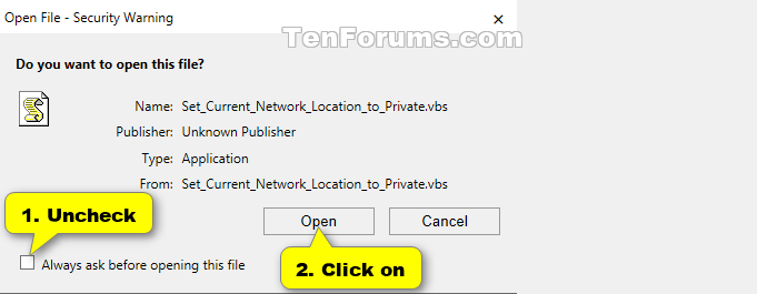 Set Network Location to Private, Public, or Domain in Windows 10-unblock.png