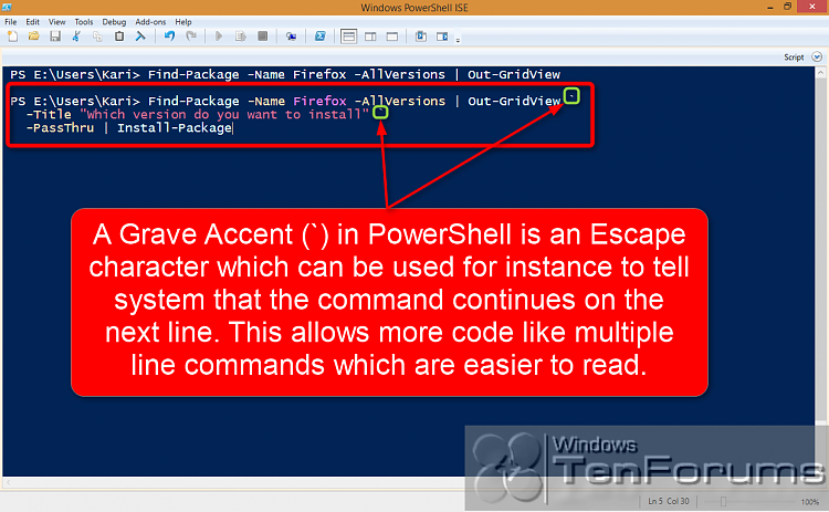 PowerShell PackageManagement (OneGet) - Install Apps from Command Line-2014-10-31_03h44_06.png