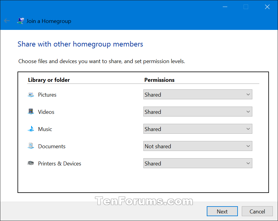 can t join homegroup in windows 10