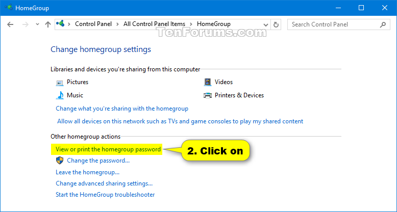 how to find your internet password on windows 10