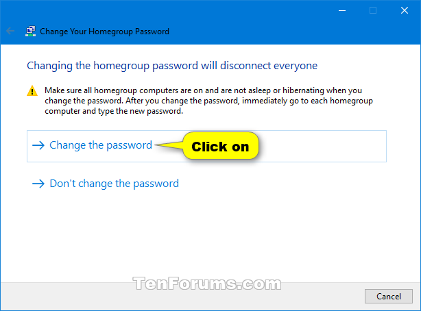 how do i find the homegroup password in windows 10