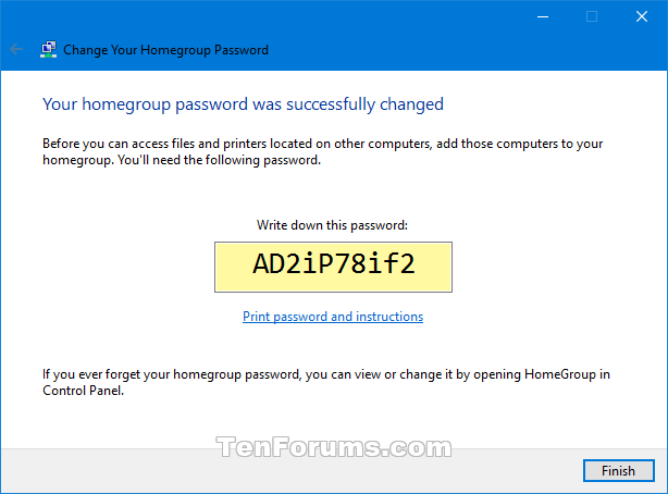 how to find homegroup password windows 7