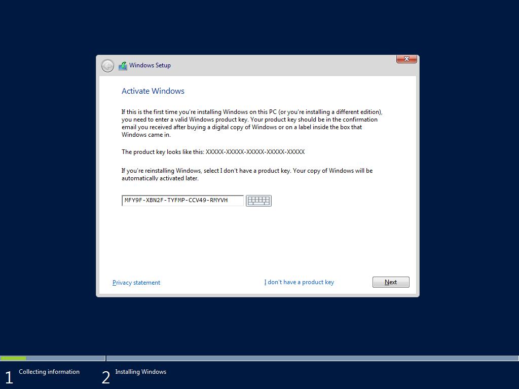 run edge on windows server 2016