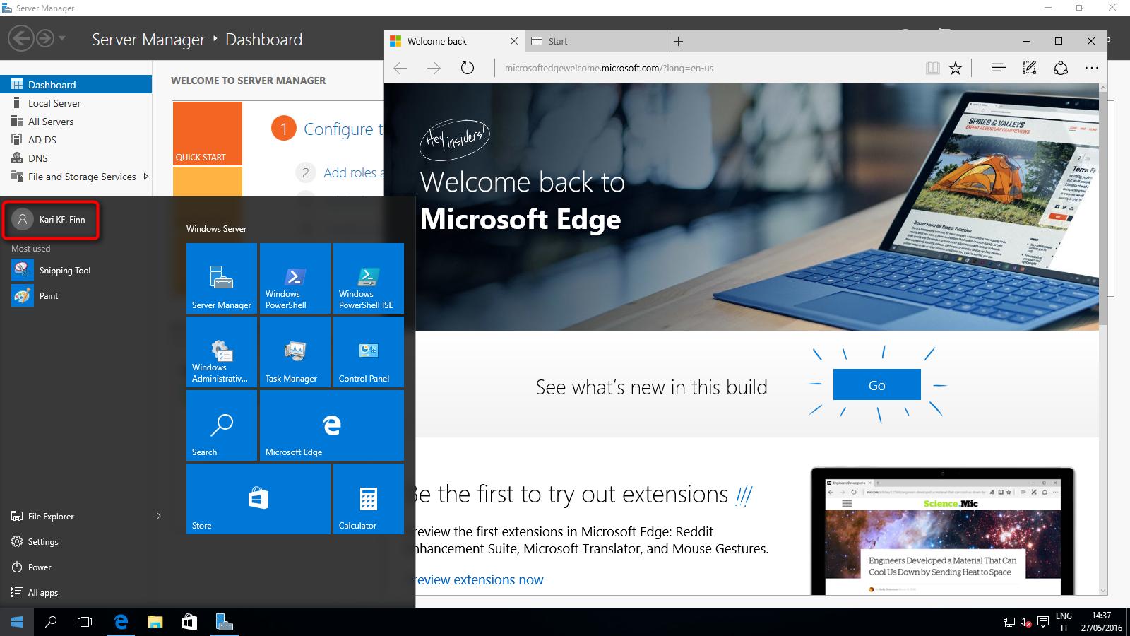 Windows Server 2016 - Setup Local Domain Controller   Tutorials
