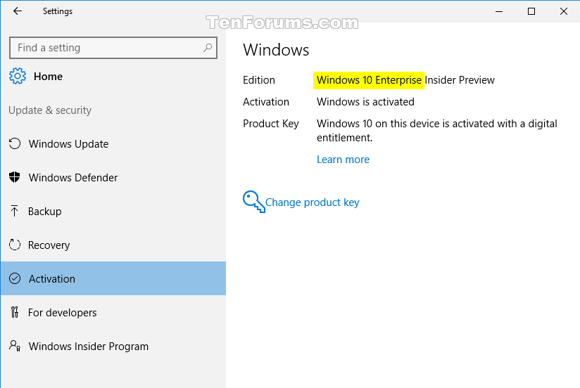 Downgrade Windows 10 Enterprise to Windows 10 Pro | Tutorials