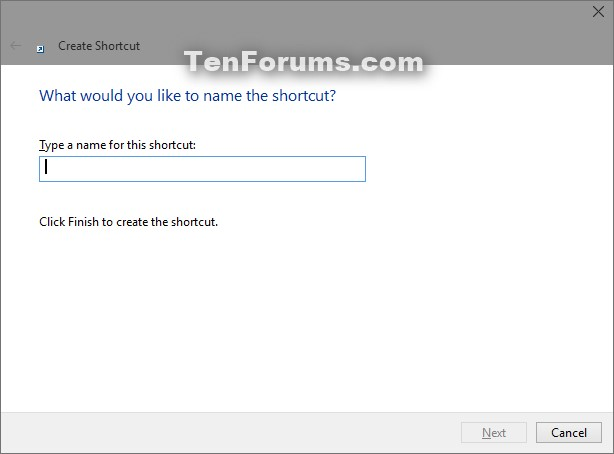 Create OneDrive folder Shortcut in Windows 10-new_shortcut-2.jpg