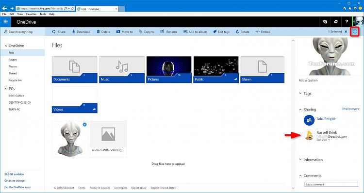 Share OneDrive Files and Folders-onedrive_oneline_email-4.jpg