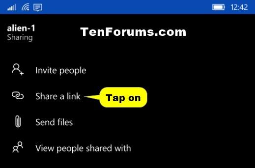 Name:  Windows_10_Mobile_OneDrive_Share_link-1.jpg Views: 1035 Size:  19.8 KB