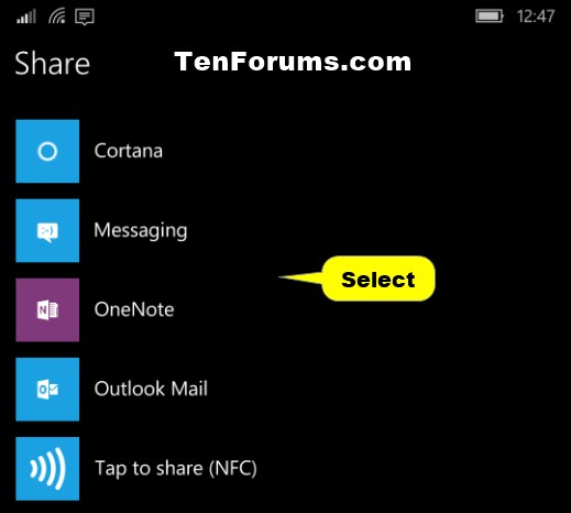Share OneDrive Files and Folders-windows_10_mobile_onedrive_share_link-3.jpg