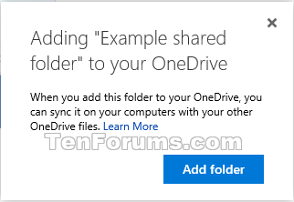 how to make a shared folder on drive