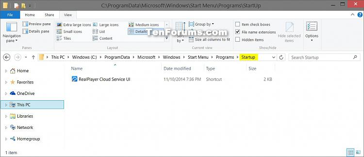 Add, Delete, Enable, or Disable Startup Items in Windows 10-shell_common_startup.jpg
