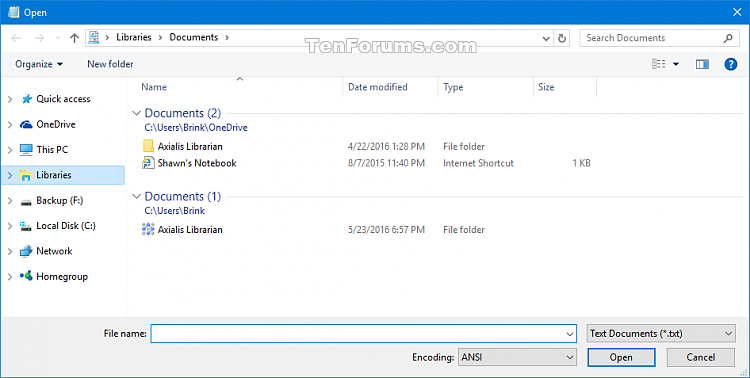 Reset Open and Save As Common Item Dialog Boxes in Windows-open_cid.png