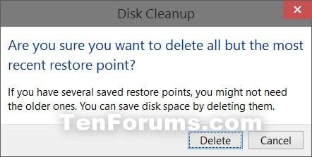how to delete zero size files in windows