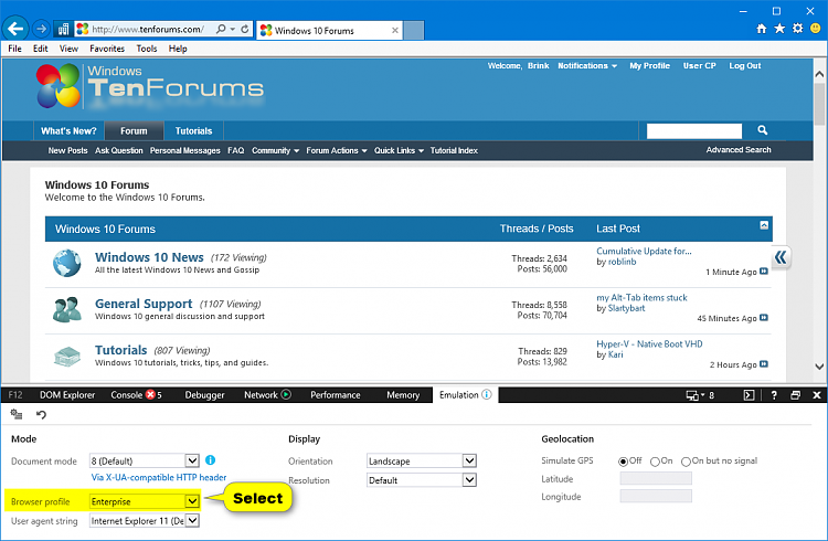 Click image for larger version.  Name:F12_Turn_on_Enterprise_Mode_for_website.png Views:117 Size:87.4 KB ID:85742
