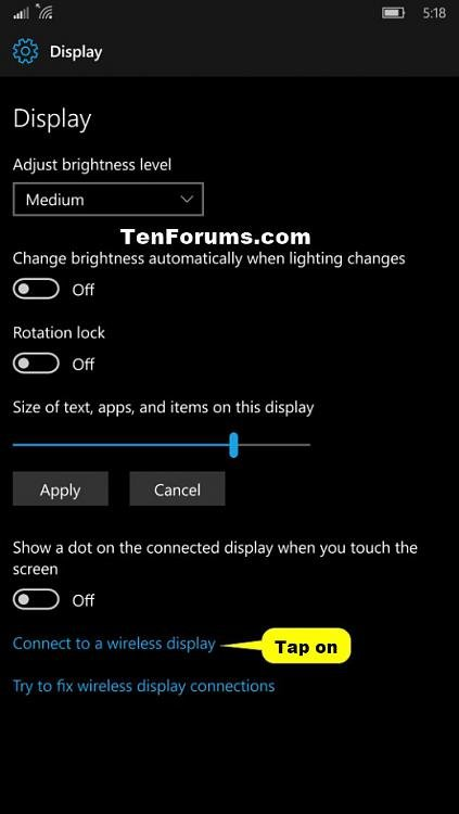 Connect to Wireless Display with Miracast on Windows 10 Mobile Phone-connect_to_wireless_display-4.jpg