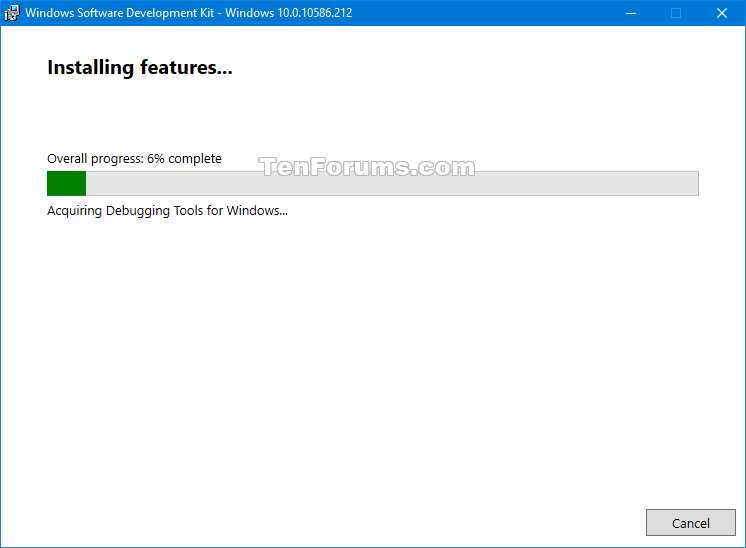 Install and Configure WinDBG for BSOD Analysis-sdksetup-3.png