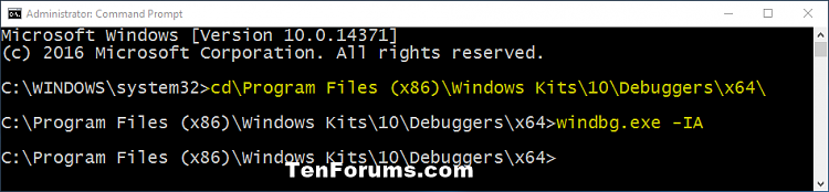Install and Configure WinDBG for BSOD Analysis-command.png