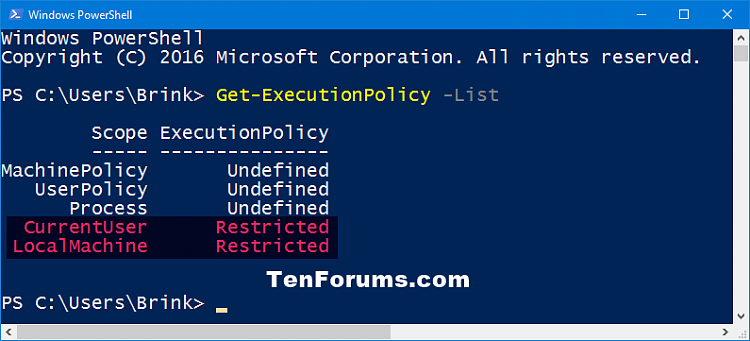 Change PowerShell Script Execution Policy in Windows 10-get-executionpolicy.png