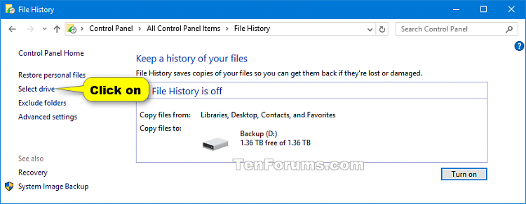 Select Drive for File History in Windows 10-select_drive_file_history-1a.png