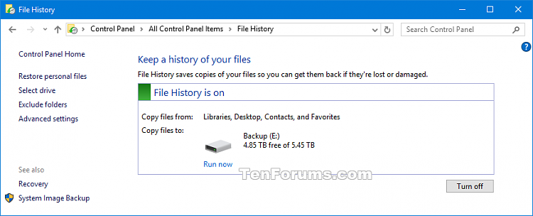 Select Drive for File History in Windows 10-select_drive_file_history-3.png