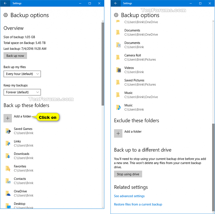 Add or Remove Folders for File History in Windows 10-file_history_add_folders-1.png