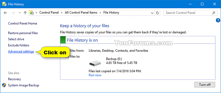Change how Often to Save File History in Windows 10-file_history_control_panel.png