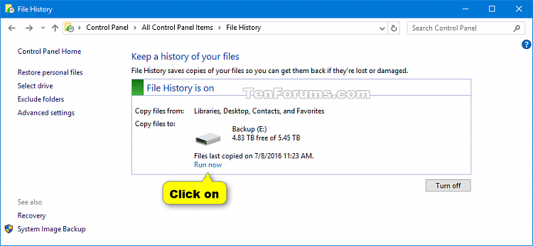 Click image for larger version.  Name:Backup_File_History_Control_Panel-1.png Views:121 Size:27.5 KB ID:88988