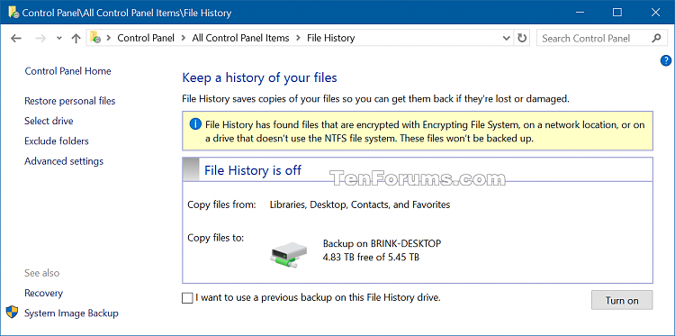 Recommend File History Drive to Homegroup in Windows 10-file_history_recommended_drive-2.png