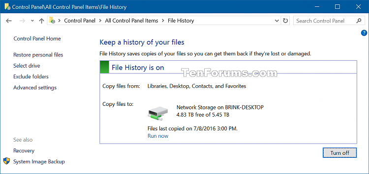 Recommend File History Drive to Homegroup in Windows 10-file_history_recommended_drive-3.png