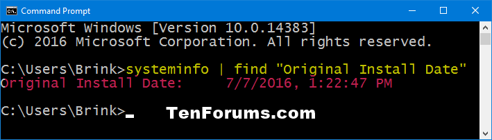Name:  Windows_original_install_date_command.png Views: 1829 Size:  13.1 KB