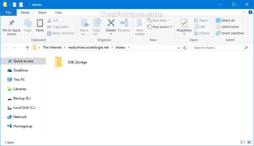 Add a Network Location in Windows 10   Tutorials