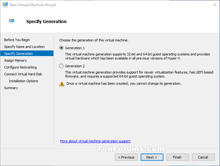 See if Hyper-V Virtual Machine is Generation 1 or Generation 2-hyper-v_generations.png