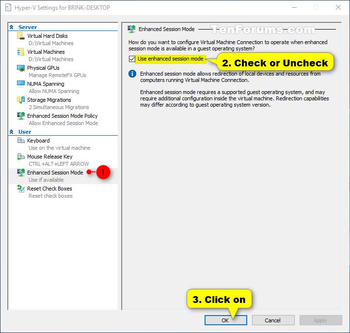 Click image for larger version.  Name:Hyper-V_Enhanced_Session_Mode.png Views:42 Size:53.2 KB ID:91729