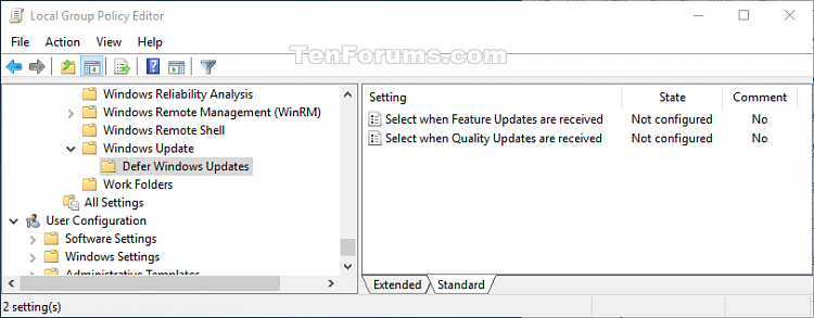 Click image for larger version.  Name:W10_defer_updates_gpedit.png Views:82 Size:28.9 KB ID:91899