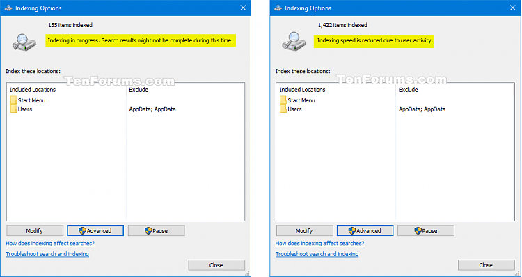 Turn On or Off to Index Encrypted Files in Windows 10-rebuild_search_index.png