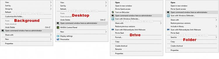 Click image for larger version.  Name:Open_CMD_here_as_admin_context_menu.jpg Views:2398 Size:122.0 KB ID:95366