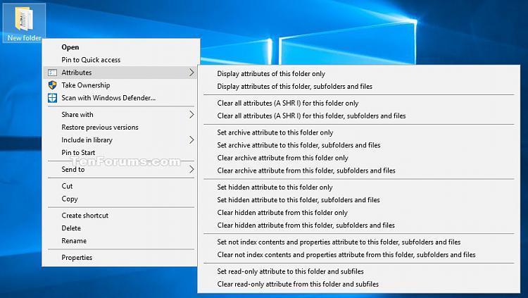 Click image for larger version.  Name:Folder_attributes_context_menu.jpg Views:135 Size:93.5 KB ID:96870