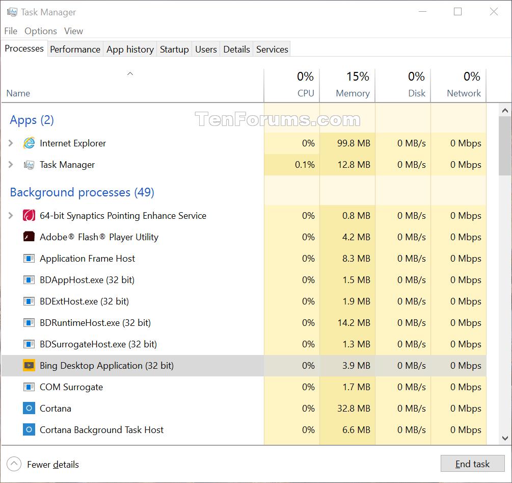 See if Process is 32-bit or 64-bit in Windows 10   Tutorials