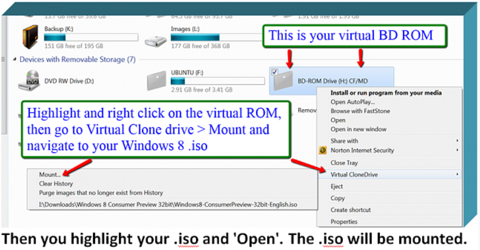 how to see your drive on win 10