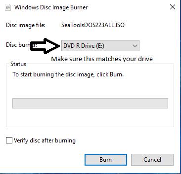 SeaTools for DOS - Hard Drive Diagnostic-burn1.png