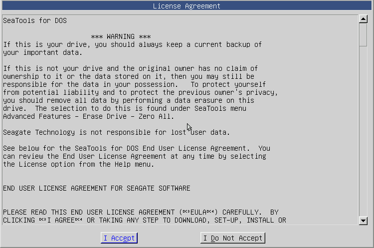 SeaTools for DOS - Hard Drive Diagnostic-license.png