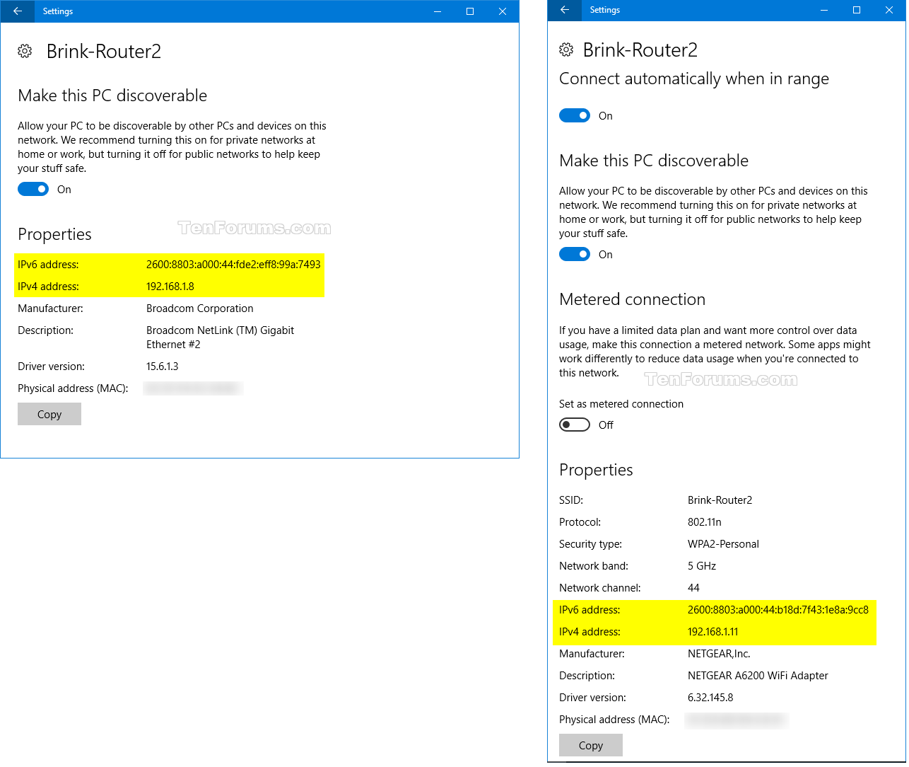 Find IP Address of Windows 10 PC | Tutorials