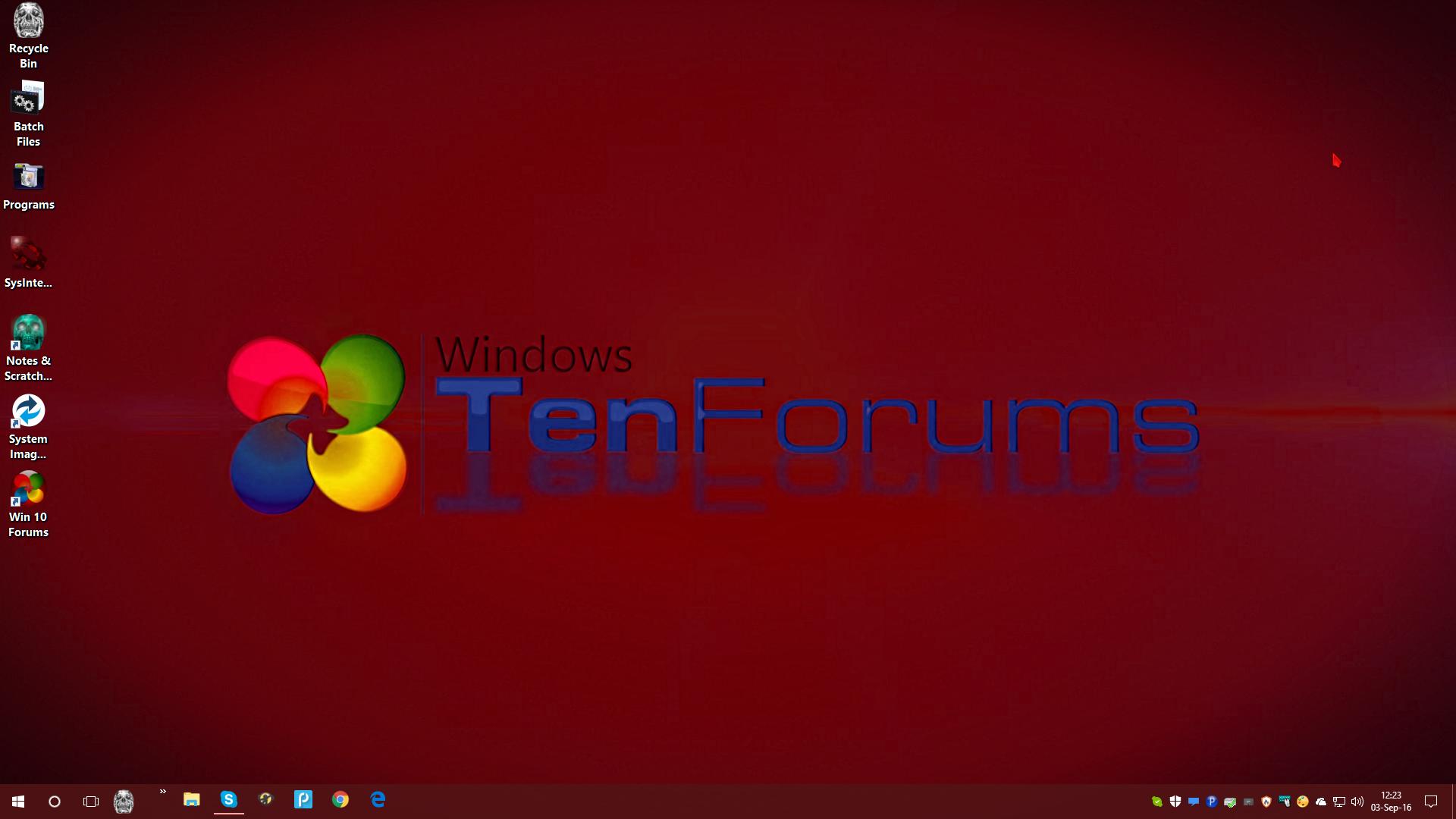 how to change windows desktop