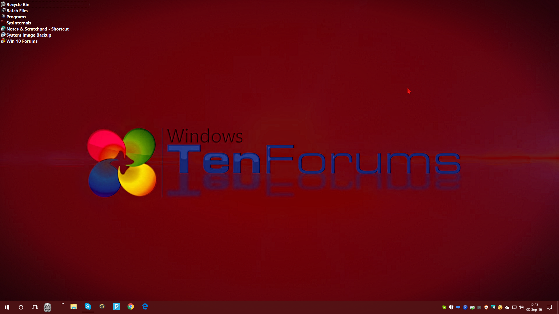 how to change the size of my desktop icons