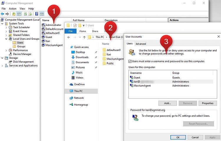 defaultuser() folder - is that normal? - Windows 10 Forums