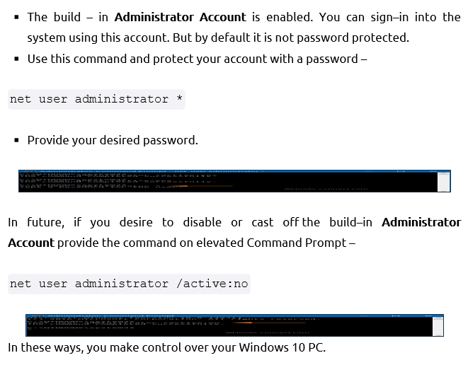 lost my administrator privileges in windows 10 - need help  solved