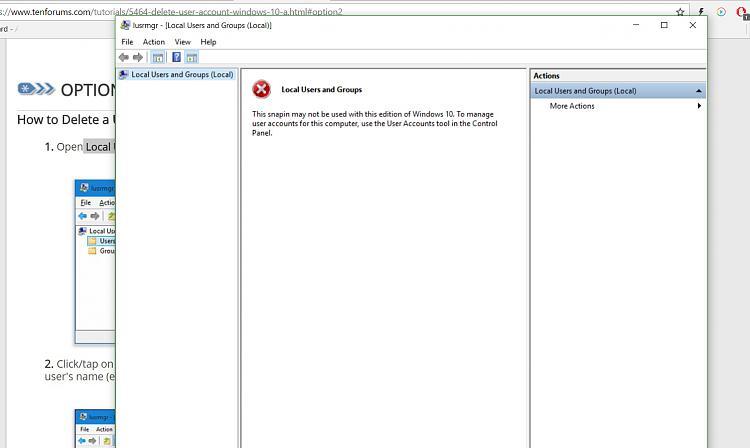 how to delete local profile windows 7