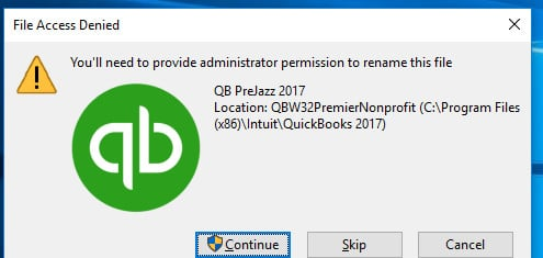 New Install---Trouble with admin rights Solved - Windows 10