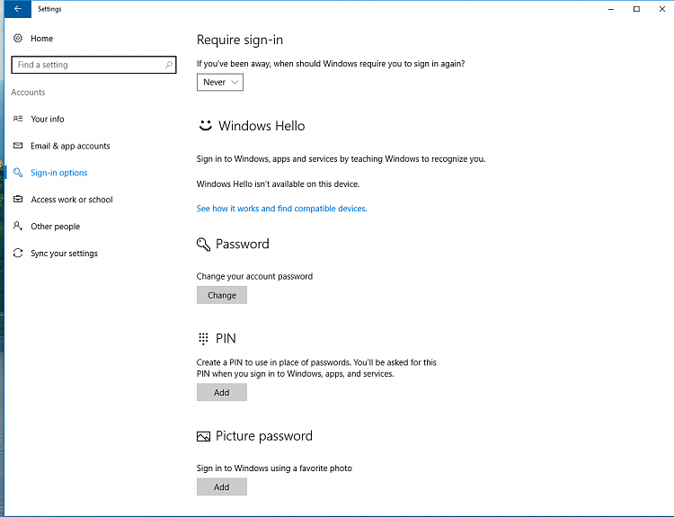Microsoft account sign in option missing-capture.png