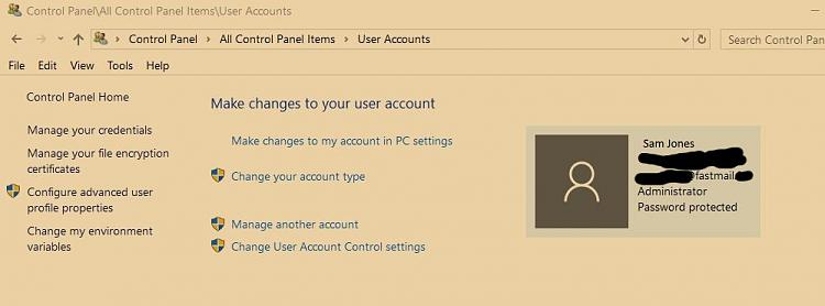 Deleting second user account that isn't showing in User